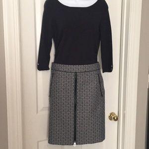 Tory Burch chain print skirt